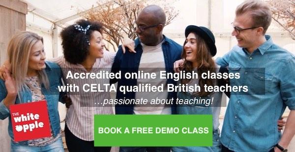 Escuela de inglés en línea The White Apple